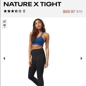 Reebok black athletic leggings